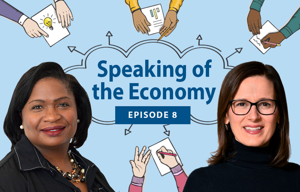 Speaking of the Economy - Tiffany Hollin-Wright and Erika Bell